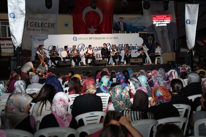 Gündoğmuş'ta Ramazan Coşkusu