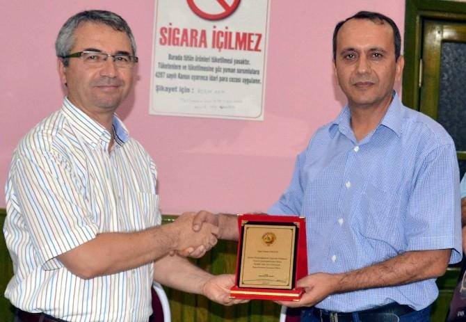 Aydın'dan Orman İşletme Müdürü Kalmaz'a Duygusal Veda