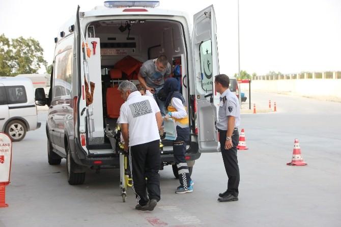 Samsun'da Kaza: 2 Yaralı