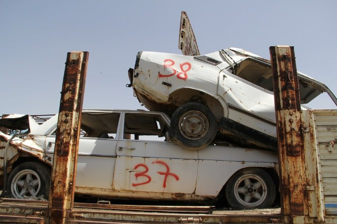 Kaçakçılıkta Kullanılan Araçlar TEK TEK Çürüyor