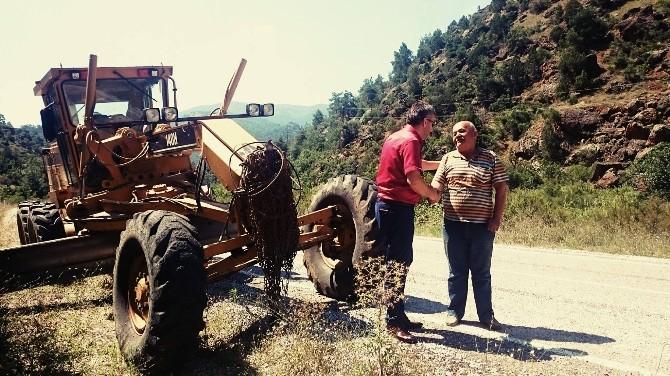 Sarıcakaya'da Üst Yapı Çalışmaları