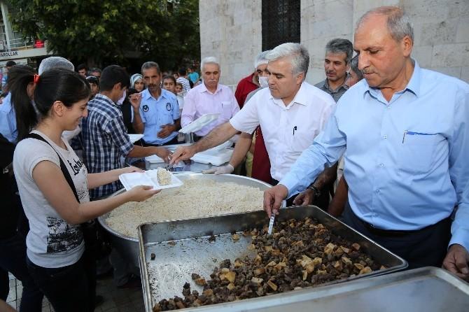 İftar Sonrası Vatandaşlara Şerbet İkramı