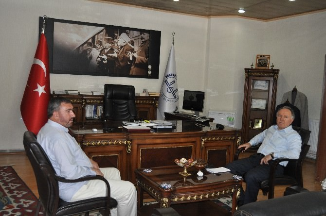 Genel Müdür Uludağ'dan Müftü Kulaz'a Ziyaret