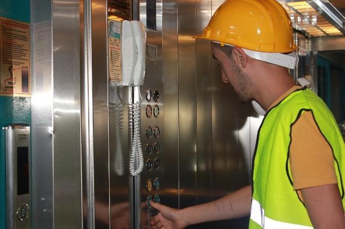 Turgutlu'da Asansörler Makine Mühendisleri Odasına Emanet