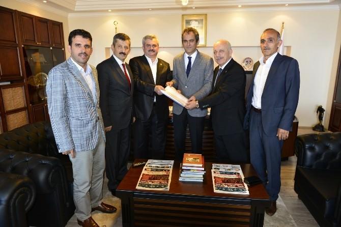 Zonguldak Milletvekilleri Rektör Özer'i Ziyaret Ettiler