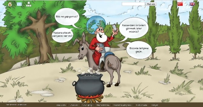 Nasreddinkazani.com E- Ticarete Hızlı Girdi