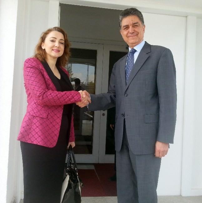 Atasoy'dan Tunus Büyükelçisi Tekaye'ye Taziye Ziyareti