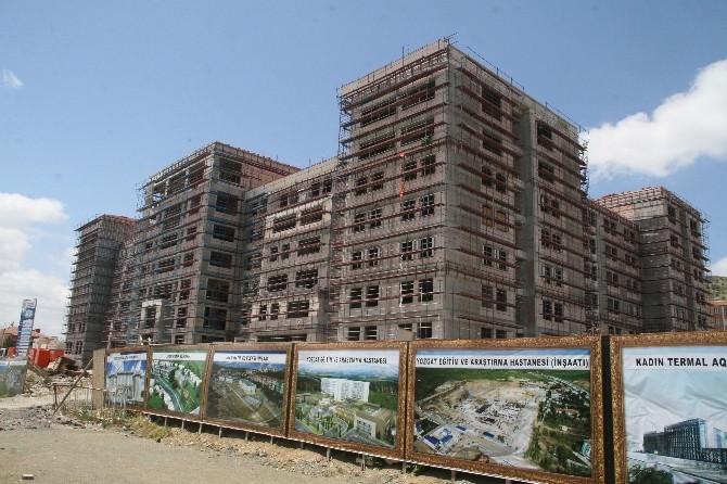 Yozgat Yeni Valilik Binasının İnşaatı Hızla Sürüyor