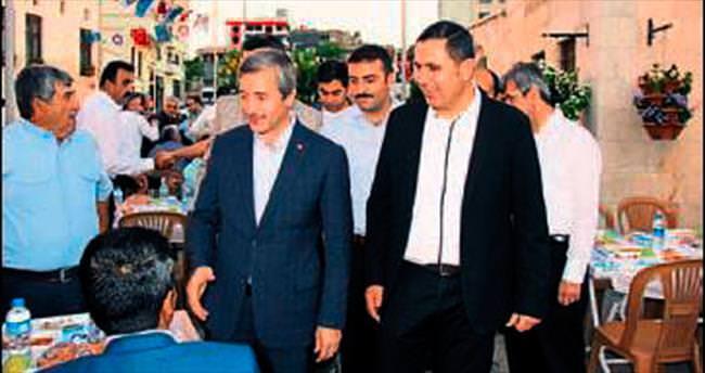Ticaret Borsası'ndan iki bin kişiye iftar