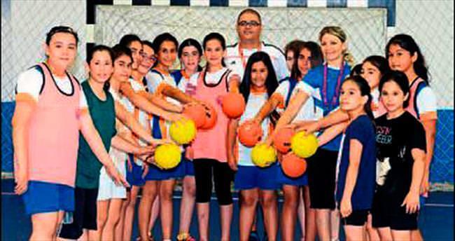Mersin'de geleceğin sporcuları yetişiyor