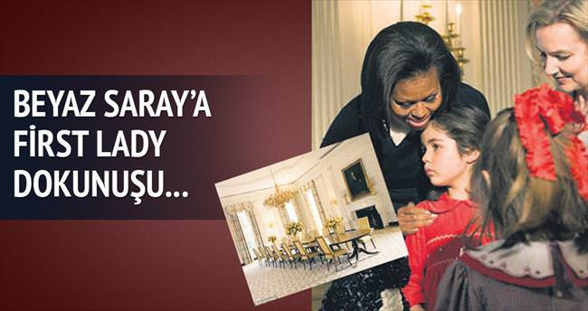 Beyaz Saray'a, First Lady dokunuşu...