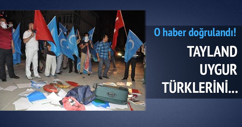 Uygur Türklerinin Çin'e teslim edilmesi tepkisi