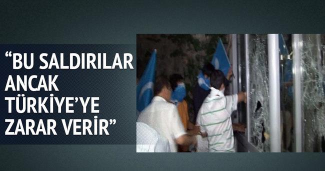 Bu saldırılar ancak Türkiye'ye zarar verir