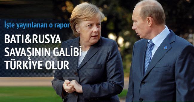 'Batı-Rusya çatışmasının galibi Türkiye olur'
