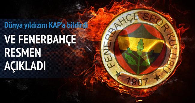 Fenerbahçe Van Persie'yi borsaya bildirildi