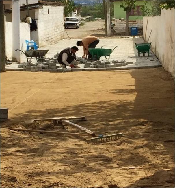 Alaşehir'de Çalışmalar Hız Kesmeden Devam Ediyor