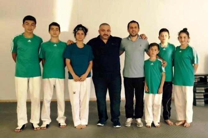 Bartınlı Taekwondocular Şampiyonaya Hazırlanıyor
