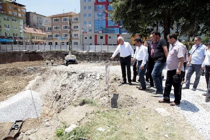 Kütahya'da Yeraltı Otoparkı Projesi