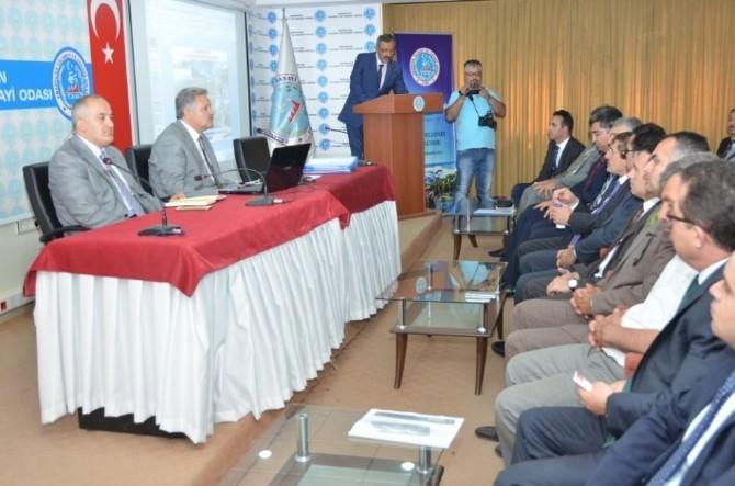 Erzincan'da Koordinasyon Kurulu Toplantısı Yapıldı