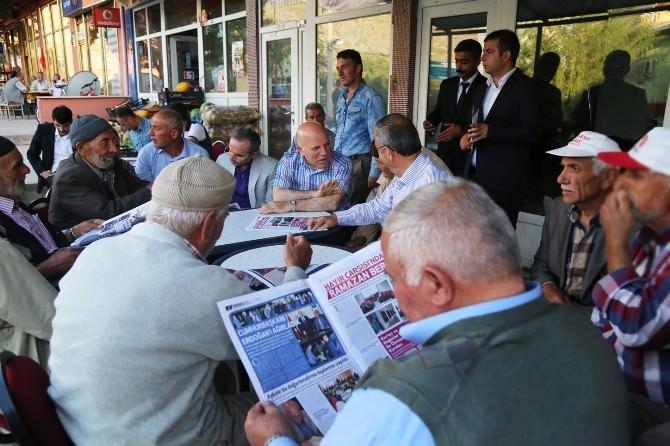 Erzurum Büyükşehir'in Yeni Yayın Organı Çıktı