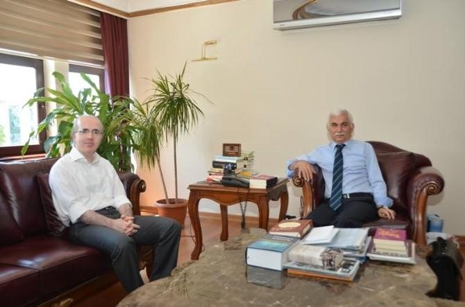 Cumhuriyet Savcısı Asım Ekren'den Vali Alimoğlu'na Veda Ziyareti