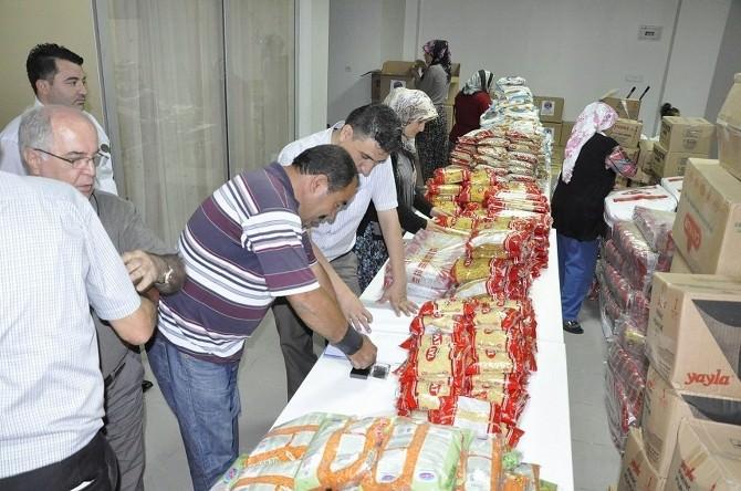 Gürün'de İhtiyaç Sahibi Ailelere Gıda Yardımı