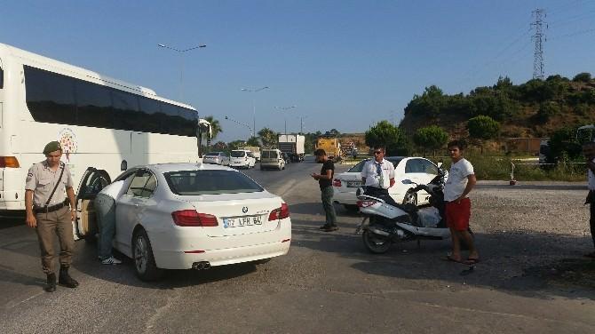 Manavgat'ta Trafik Kazası