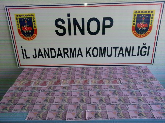 Sinop'ta Sahte Para Operasyonu