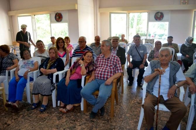 Söke Şair Ve Yazarlar Derneği'nden Huzur Evi Yaşlılarına Etkinlik