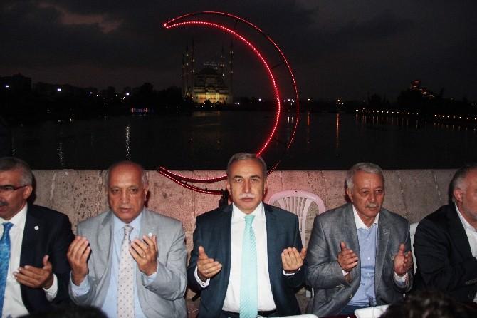 Kızılay Taşköprü'de İftar Verdi