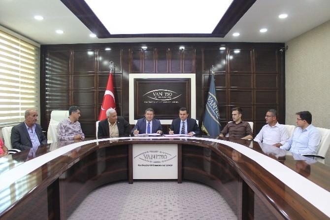 Van TSO Ve TÜİK Arasında İşbirliği Protokolü İmzaladı