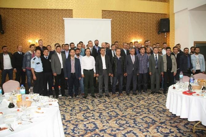 Yozgat Emniyet Müdürlüğü Asayiş Şubeden Personele İftar Yemeği