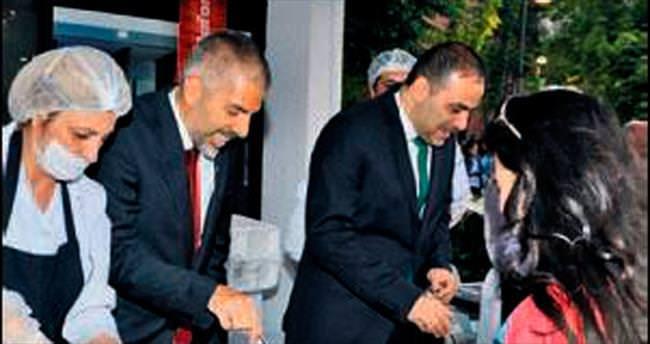 Vodafone Ankara'da iftar verdi