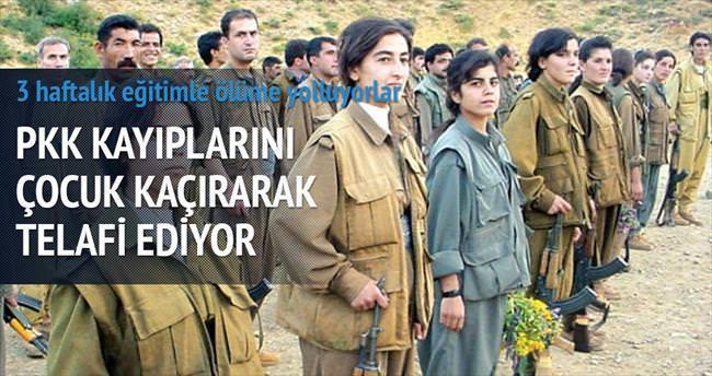 PKK 5 bin çocuğu kaçırdı