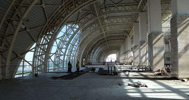 Diyarbakır Havalimanı yeni terminalinde sona gelindi