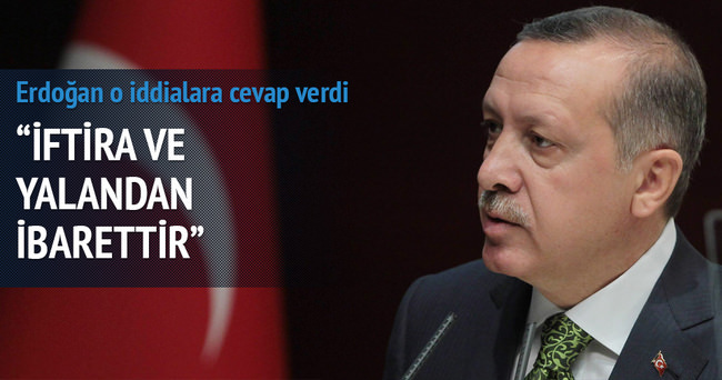 Erdoğan o iddialara cevap verdi