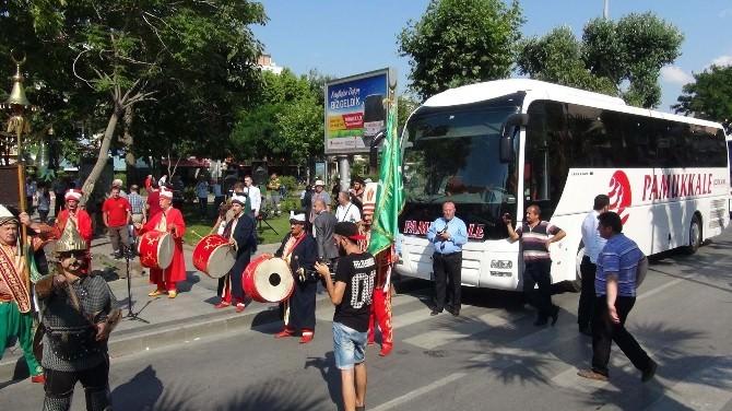 Pamukkale Turizm Çanakkale'de Seferlere Başladı