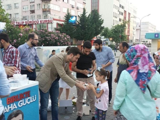 AK Parti Osmangazi Gençlik Kollarından ' İftara Beş Kala ' Projesi