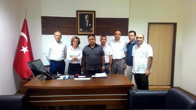 Aydın Sağlık-sen'den Genel Sekreter Özcan'a Ziyaret