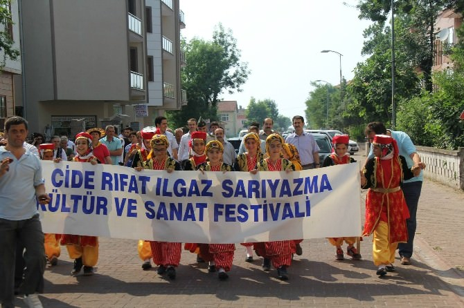 20. Cide Rıfat Ilgaz Yarı Yazma Kültür Ve Sanat Festivali Başladı