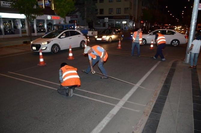 Düzce Belediyesi Gece Gündüz Çalışıyor