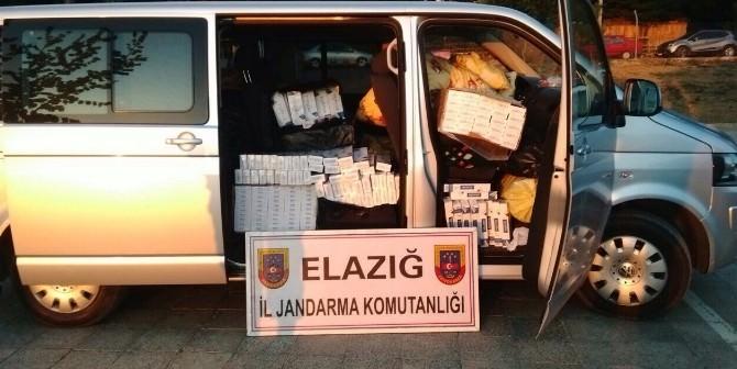 Elazığ'da 20 Bin Paket Kaçak Sigara Ele Geçirildi