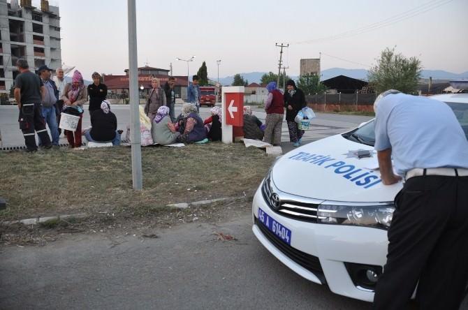 Turgutlu'da Kamyonet Ve Traktörlere Sıkı Denetim