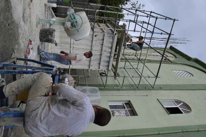Minare Ustası Son Minaresini Alaplı'da Yaptı