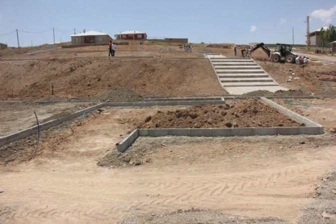 Özalp'ta Park Yapımı