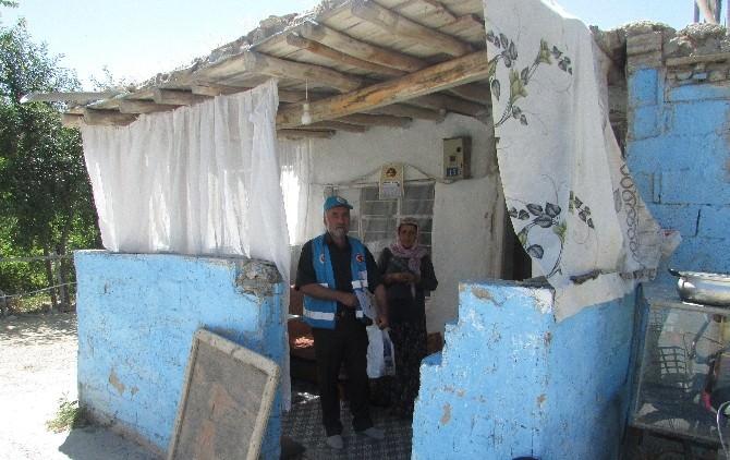 İhtiyaç Sahibi Ailelere 280 Adet Gıda Yardım Kartı Dağıtıldı