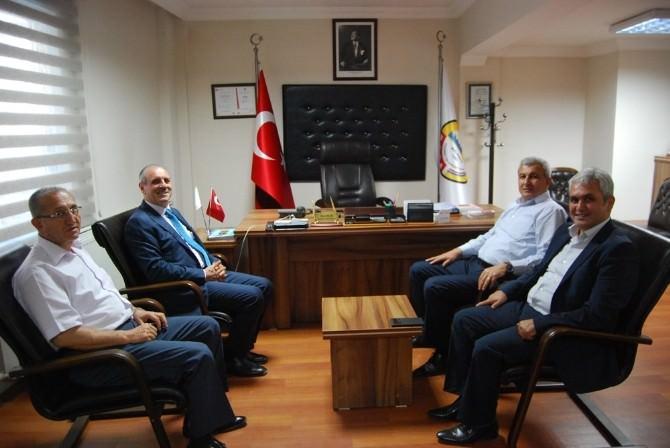Tekirdağ Valisi Enver Salihoğlu'dan Malkara TSO'ya Ziyaret