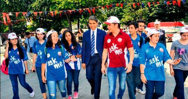 Sinan Akçıl, Fatih'te gönüllü turizm elçisi oldu
