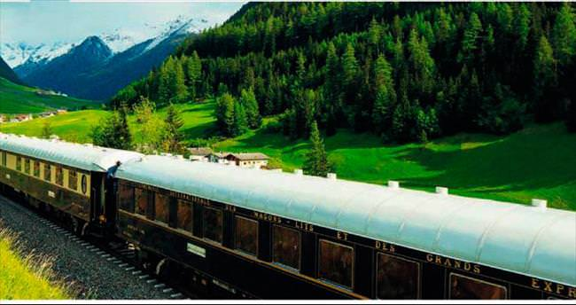 İkonik trenle romantik yolculuk