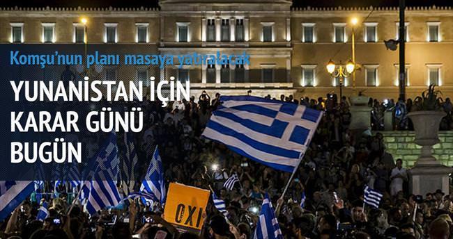 Atina'da 'hayır' Brüksel'de 'evet'